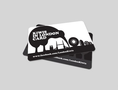 Kiwis London PVC Card