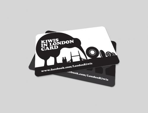 Kiwis London PVC Card